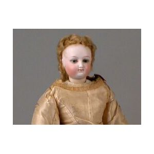 Early French Bisque Lady Doll by Bru