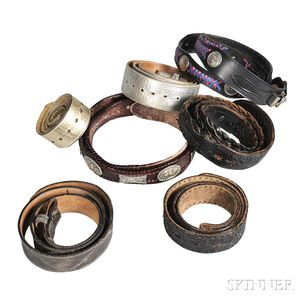 Seven Leather Belts