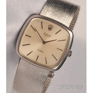 "18kt White Gold ""Cellini"" Wristwatch, Rolex"