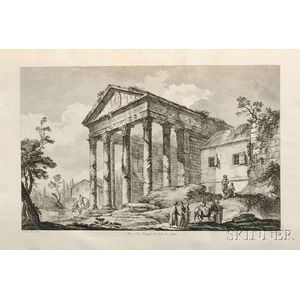 Le Roy, Julien David (1724-1803) Les Ruines des Plus Beaux Monuments de la Grèce