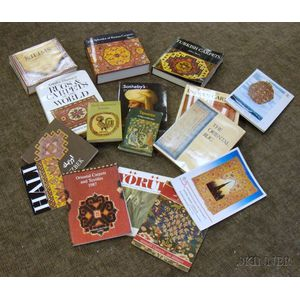 Lot of Fifteen Oriental Rug Books and Catalogs.