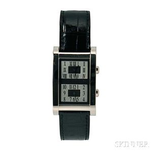 18kt Gold Dual Time Zone Wristwatch, Graff London