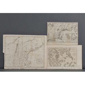 New England, Three Maps.