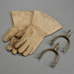 Spurs and Cavalry Gauntlets
