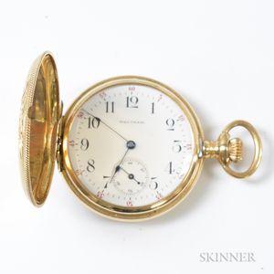 Waltham Gold-filled Hunter-case Pocket Watch