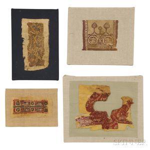 Four Coptic Fragments