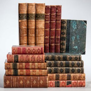 Decorative Bindings, Approximately Seventy-four Volumes.