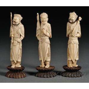Three Ivory Carvings