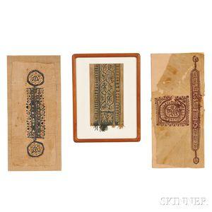 Three Large Coptic Fragments
