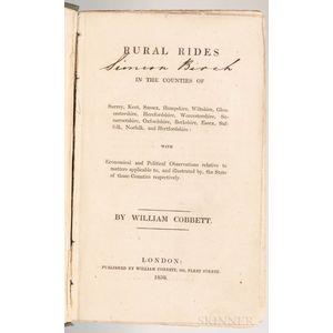 Cobbett, William (1763-1835) Rural Rides.