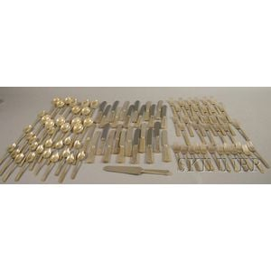 International Silver Company Sterling Partial Flatware Service