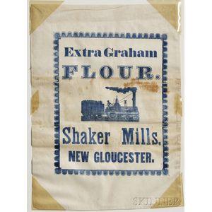 """""""Extra Graham"""" Shaker Flour Bag"""