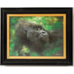 Joel Kirk (British b. 1948)      Gorilla.
