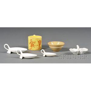 Six Assorted Small Ceramic Items