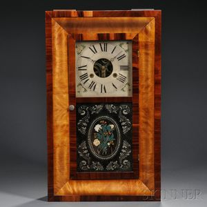 Silas Hoadley Ogee Shelf Clock
