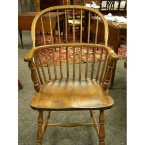 Windsor Maple and Birch Armchair.