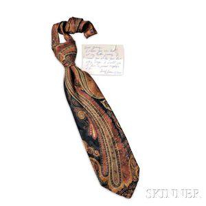 Bill Monroe     Bill Blass Silk Tie