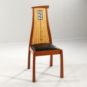 "Michael Gloor Design ""Window Chair,"""
