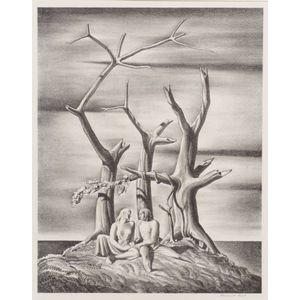 Rockwell Kent (American, 1882-1971)    The Genealogical Tree