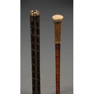 Two Walking Sticks