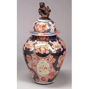 Imari Covered Jar