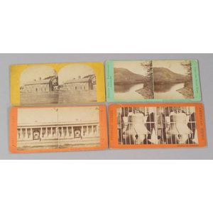 Large Lot of Approximately Six Hundred Stereoscopic Cards
