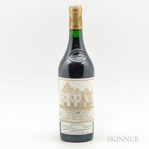 Chateau Haut Brion 1989, 1 bottle