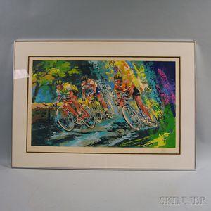 Wayland Moore (American, 20th Century)      Bicycle Race