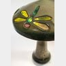 Dragonfly Pottery Table Lamp in the Style of Fulper Vasekraft