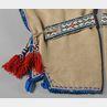 Cree Beaded Cloth Leggings and Beaded Garters