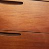 Tall Henning Jorgensen Teak Chest of Drawers