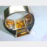 Citrine and Diamond Cuff Bracelet, Cartier