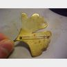 Two Artist-Designed 18kt Gold Leaf Brooches, John Iverson