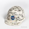 NASA Safety Helmet Signed by Twenty-six American Astronauts and Six NASA Scientists.