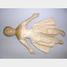 Oil-painted Cloth Girl Doll