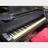 Steinway & Sons Black Lacquered Baby Grand Piano with Bench