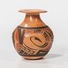 Contemporary Hopi Polychrome Pottery Vase