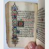 Book of Hours, Latin, Use of Rome.
