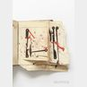 Manuscript Day Book and Documents, Including Clockmaking Diagrams and Other Material, Dartmouth, Massachusetts, Mid-18th Century.